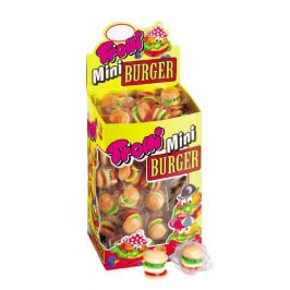 Bonbóny Trolli Mini Burger 80ks (800g)