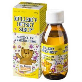 Dr.Muller  Müllerův dětský sirup s jitrocelem a mateřídouškou 320g