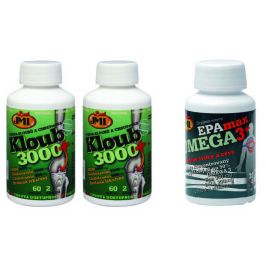 JML AKCE Kloub 3000+ 2x62 tablet + EPAmax OMEGA 3+, 34 tobolek