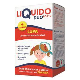 LiQuido DUO FORTE šampon na vši 200ml + sérum 125ml