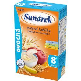 Sunárek Ovocná kašička mléčná multicereální 225g