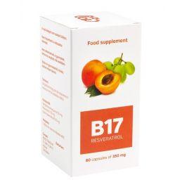 B17 Resveratrol 80 kapslí