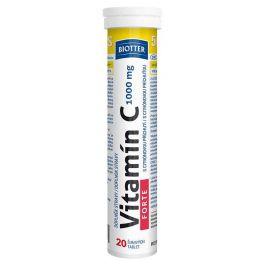 Biotter Vitamín C 1000mg FORTE 20ks šumivých tablet