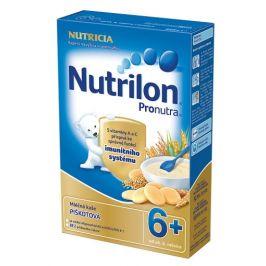 Nutrilon kaše Pronutra mléčná krupicová s piškoty 6M 225g