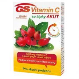 GS Vitamin C 1000 + šípky Akut 10 tablet