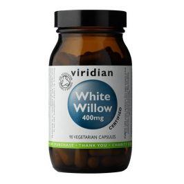 Viridian  Organic White Willow Bark 400mg 90 kapslí