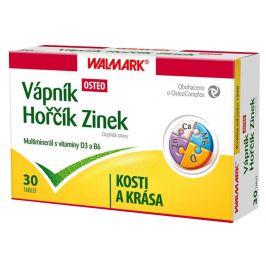 Walmark Vápník, Horčík, Zinek - Osteo 30 tablet