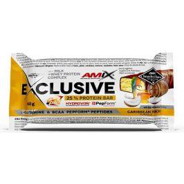 AMIX Exclusive Protein Bar, Karibský punč, 40g