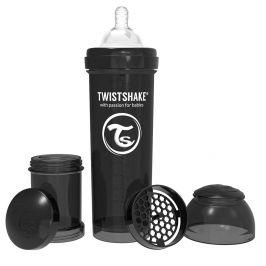Twistshake  Kojenecká láhev Anti-Colic 330ml (dudl.L) Černá
