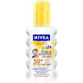 NIVEA SUN Dět.sprej na opal. Sensit. OF50+ 200ml