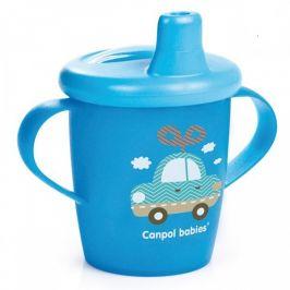 Canpol babies  Nevylévací hrníček TOYS 250 ml modrý