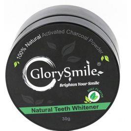 GlorySmile  Bělicí zubní pudr Charcoal s aktivním uhlím Mentol 30g