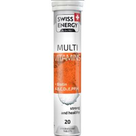 Swiss Energy Multivitamín + Biotin 20 šumivých tablet