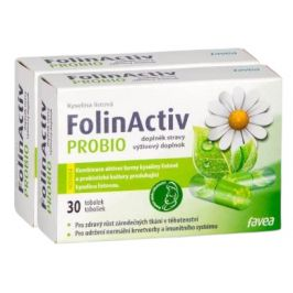 Favea  FolinActiv PROBIO DUO balení 2x30 tobolek