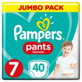 Pampers Pants S7 40ks, 17+kg