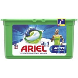 Ariel gelové kapsle Allin1 Deo Fresh 32ks
