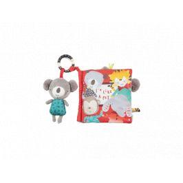 Mamas & Papas  Textilní knížka s aktivitami koala Koko