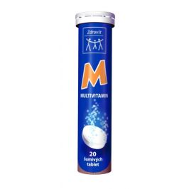 Zdrovit multivitamin pomeranč 20 šumivých tablet
