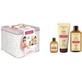 Erboristica Sada tělový olej mandlový 200ml, tělový krém 200ml a sprchový gel 60ml
