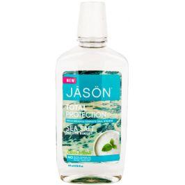 Jason Ústní voda total protection s mořskou solí a mátou 474ml
