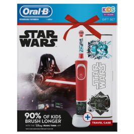 Oral-B Vitality Kids Star Wars Elektrický zubní kartáček + Cestovní pouzdro