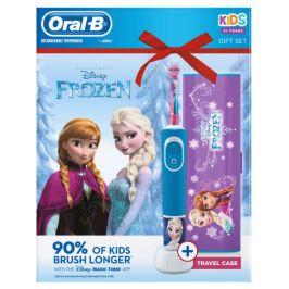 Oral-B Vitality Kids Frozen Elektrický zubní kartáček + Cestovní pouzdro