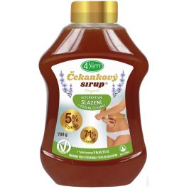 4slim Čekankový sirup Originál 700g