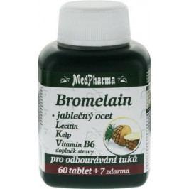 MedPharma Bromelain+jabl.ocet+lecitin tbl.67