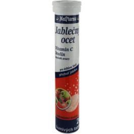 MedPharma Jablečný ocet+C+Inulin tbl.eff.20