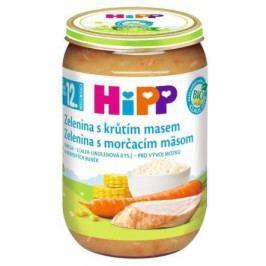HIPP DĚTSKÉ MENU Zel.s krocan.masem 220g CZ6813