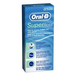 Oral-B Superfloss zubní nit 50 ks