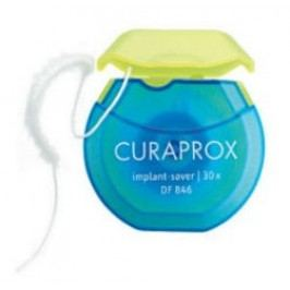 Curaprox DF 846 dentální nit implant saver 30 ks