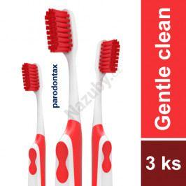parodontax Gentle Clean Extra Soft zubní kartáček 3 ks