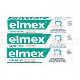 Elmex Sensitive zubní pasta pro citlivé zuby 3 x 75 ml
